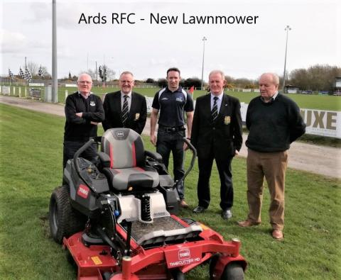 Ards RFC - New Lawnmower